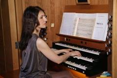 Солистка Московской Государственной Академической филармонии Екатерина Мельникова (г. Москва)